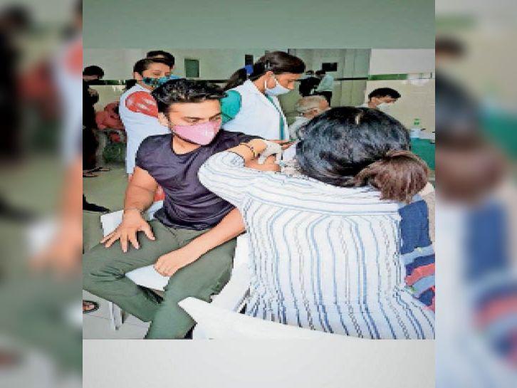 वैक्सीनेशन में प्रदेश में 14वें नंबर पर पानीपत, 3.35 लाख काे सिंगल डाेज, 94,491 को लगी दोनों डोज|पानीपत,Panipat - Dainik Bhaskar
