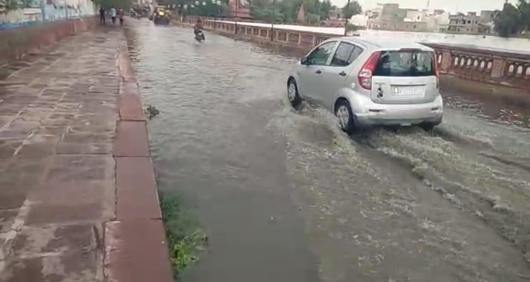 सूरसागर के आगे पानी। - Dainik Bhaskar