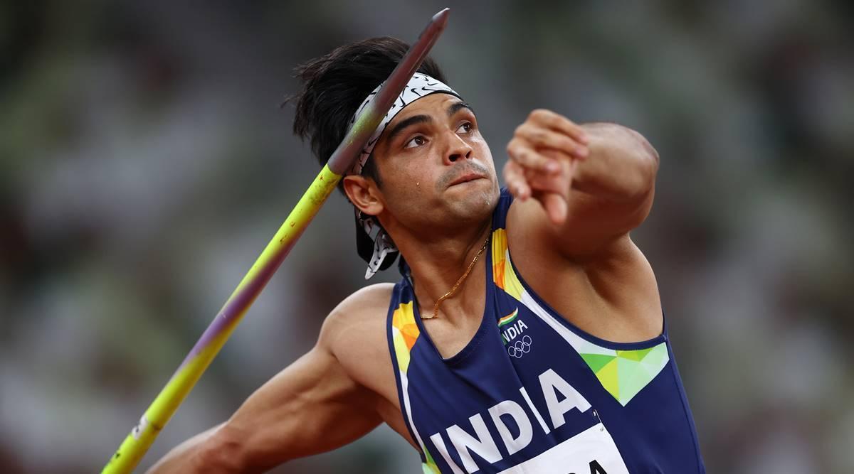जेवलिन थ्रो के फाइनल में नीरज चोपड़ा ने पहले राउंड में 87.58 मीटर थ्रो किया, पूरे फाइनल में उनसे आगे कोई नहीं निकल पाया।