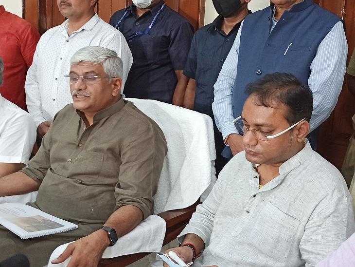 मुलाकात के बाद कहा-CG में पेयजल आपूर्ति की योजनाएं पिछड़ी, केंद्र से मिला पैसा भी खर्च नहीं कर पा रही सरकार|रायपुर,Raipur - Dainik Bhaskar