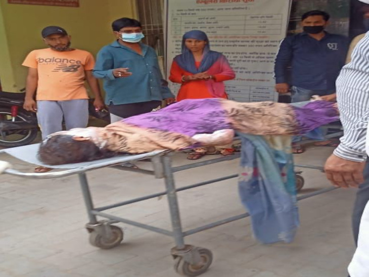 मां-बेटी रसोई में खाना बना रही थी, सिलेंडर ने आग पकड़ी तो पिता मदद के लिए पहुंचा; तीनों झुलसे|सीकर,Sikar - Dainik Bhaskar