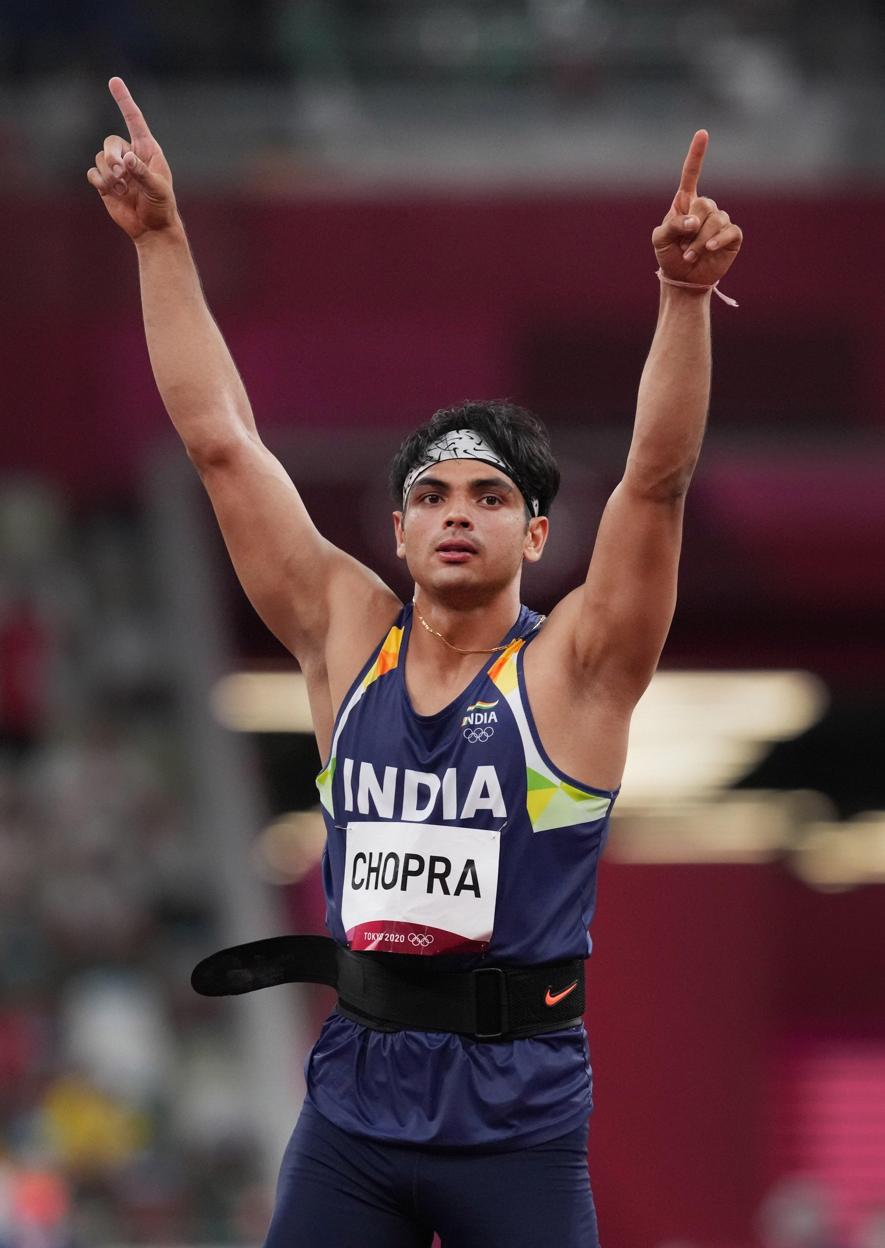 नीरज चोपड़ा ने गोल्ड जीतकर इतिहास रच दिया है।
