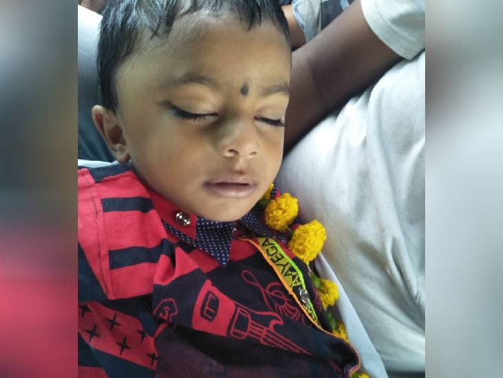मृतक स्वराज का 4 दिन पहले तीसरा जन्मदिन मनाया गया था। - Dainik Bhaskar