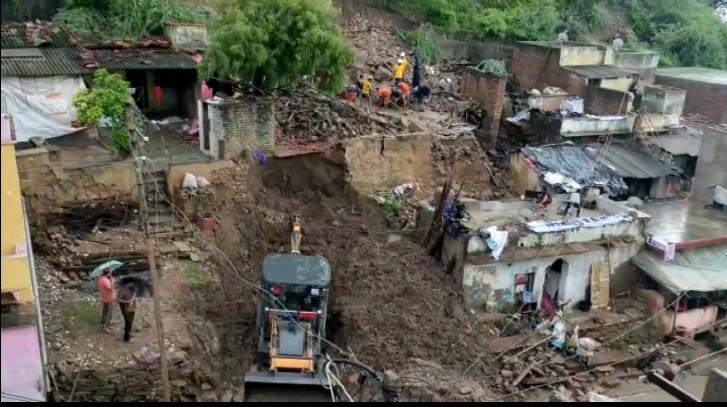 बूंदी के केशवारायपाटन क्षेत्र में मकान गिरने से 7 लोगों की मौत हो गई थी। (फाइल फोटो)