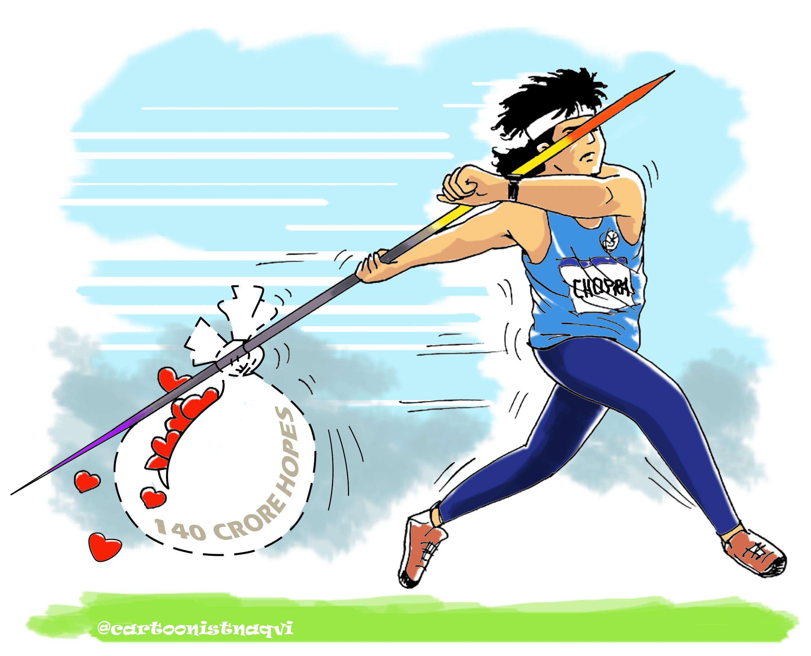 गोल्ड जीतने के बाद बोले - दूसरा थ्रो फेंकते ही समझ गया था ये बेस्ट होगा; अगला टारगेट 90 मीटर स्पोर्ट्स,Sports - Dainik Bhaskar