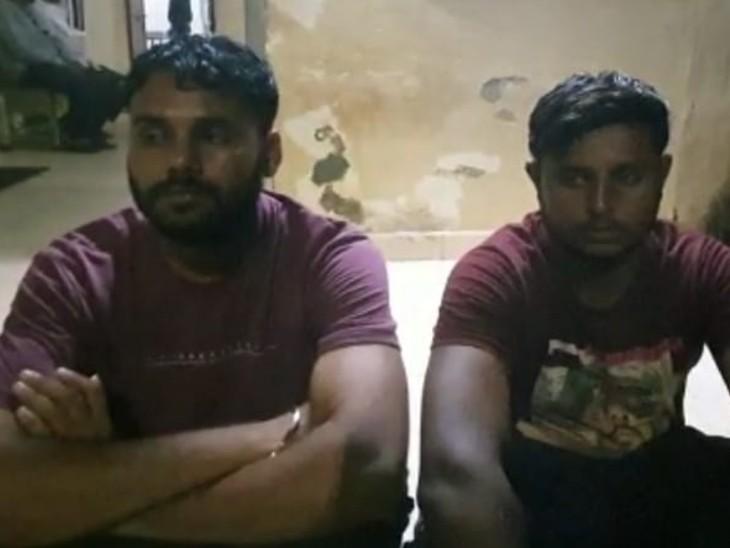 गुजरात से आया था टैंकर, केवल 7 दिन में पेट्रोल भरने की मशीन और जनरेटर भी लगाया,2 को पकड़ा|डूंगरपुर,Dungarpur - Dainik Bhaskar