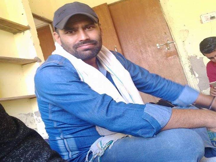 राजू सीआरपीएफ में नौकरी करता था।