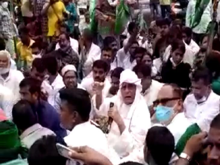 प्रदेश अध्यक्ष ने कहा- जींस पहनने वाले कभी राजनीति नहीं कर सकते, हमारी पार्टी गरीबों और संघर्ष करने वालों की है|बिहार,Bihar - Dainik Bhaskar