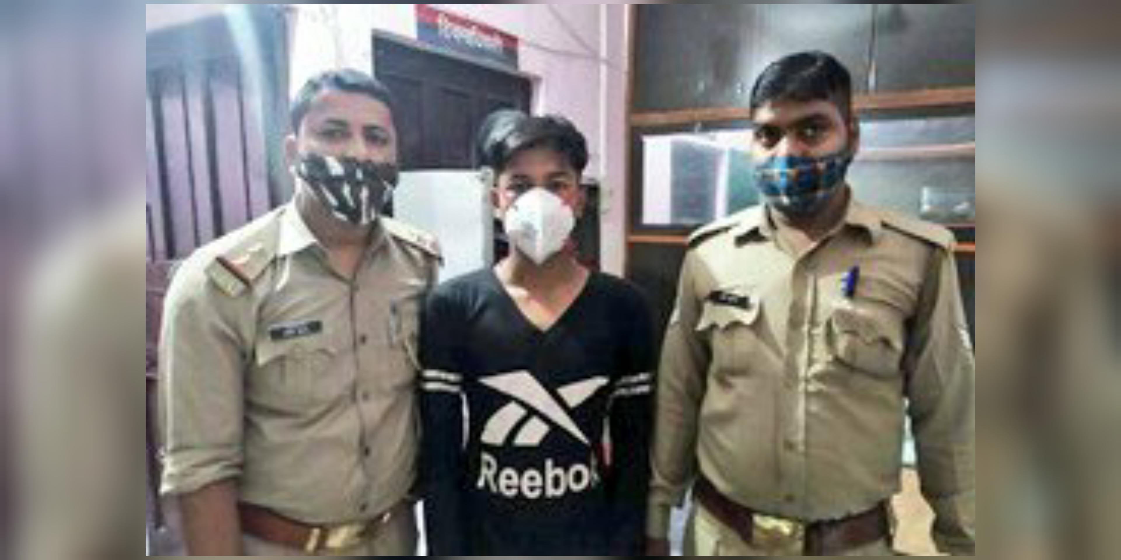 गाजियाबाद पुलिस ने सोशल मीडिया अकाउंट हैक करने में मोहम्मद शाद नाम के शख्स को गिरफ्तार किया है। - Dainik Bhaskar