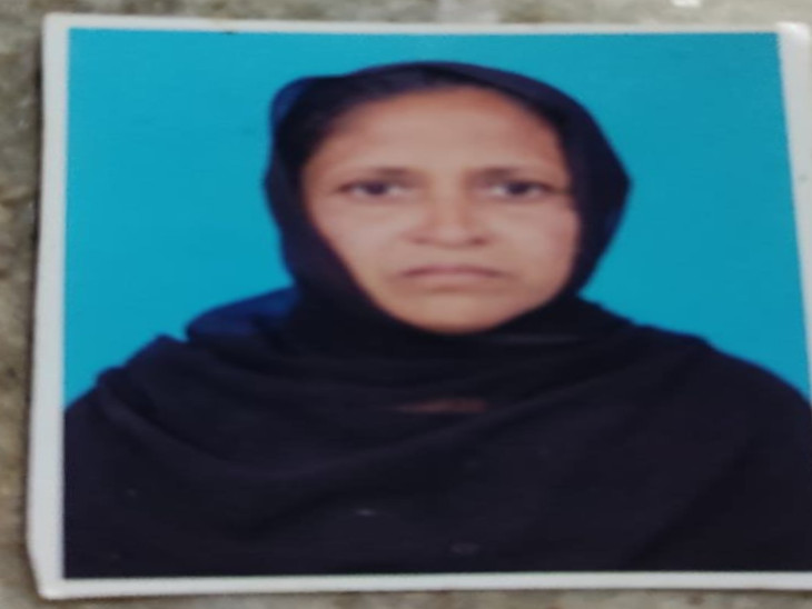 मृतक महिला मदीना बेगम की फाइल फोटो