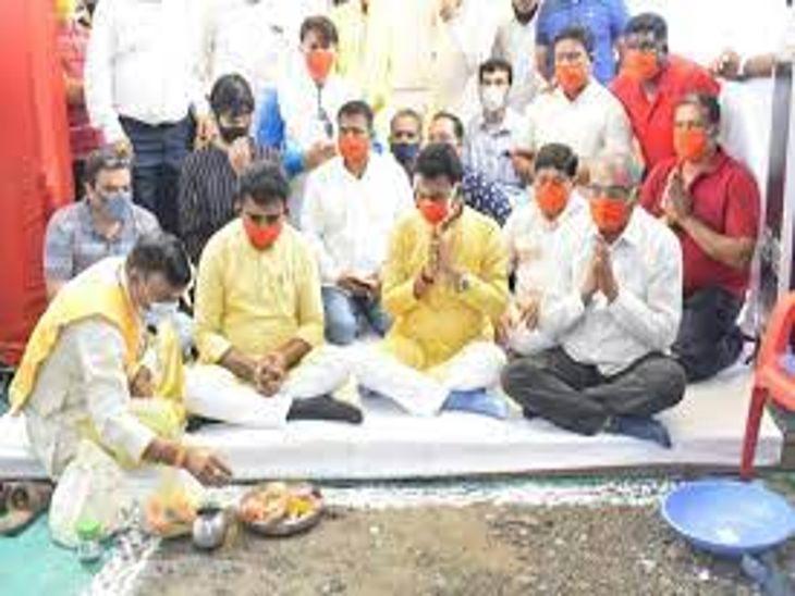 इंदौर में सीएम की घोषणा वाली सड़क की मंजूरी लेना भूला IDA, भूमिपूजन के बाद रुका काम|इंदौर,Indore - Dainik Bhaskar
