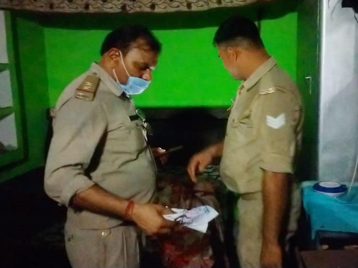 पति-पत्नी में होते थे झगड़े, तंग आकर महिला ने धारदार हथियार से पहले दो मासूमों पर किए वार, फिर खुद को भी किया जख्मी; एक बेटे की मौत, दूसरे की हालत गंभीर|मुरादाबाद,Moradabad - Dainik Bhaskar