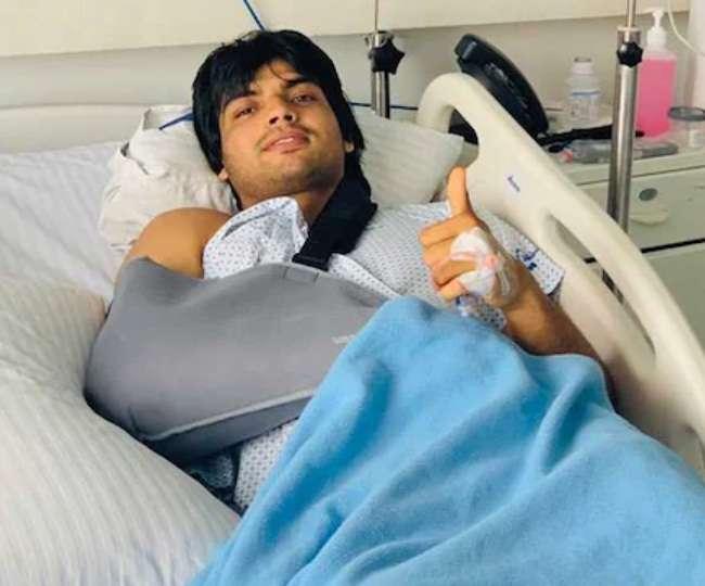 नीरज ने मई 2019 में कोहनी की सर्जरी कराई थी