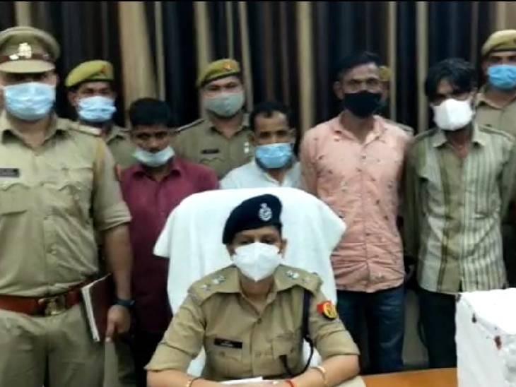 पुलिस ने चारों आरोपियों को गिरफ्तार कर जेल भेज दिया है। - Dainik Bhaskar