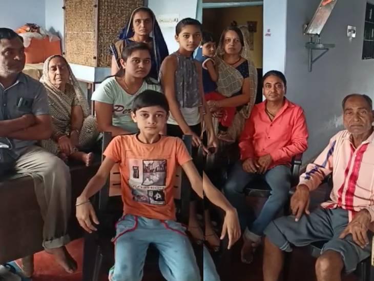 घर के नीचे बैंक में आधी रात लगी आग, ऊपर रहने वाला परिवार लपटों में घिरा; दहशत में 72 वर्षीय बुजुर्ग छत से कूदे|जबलपुर,Jabalpur - Dainik Bhaskar