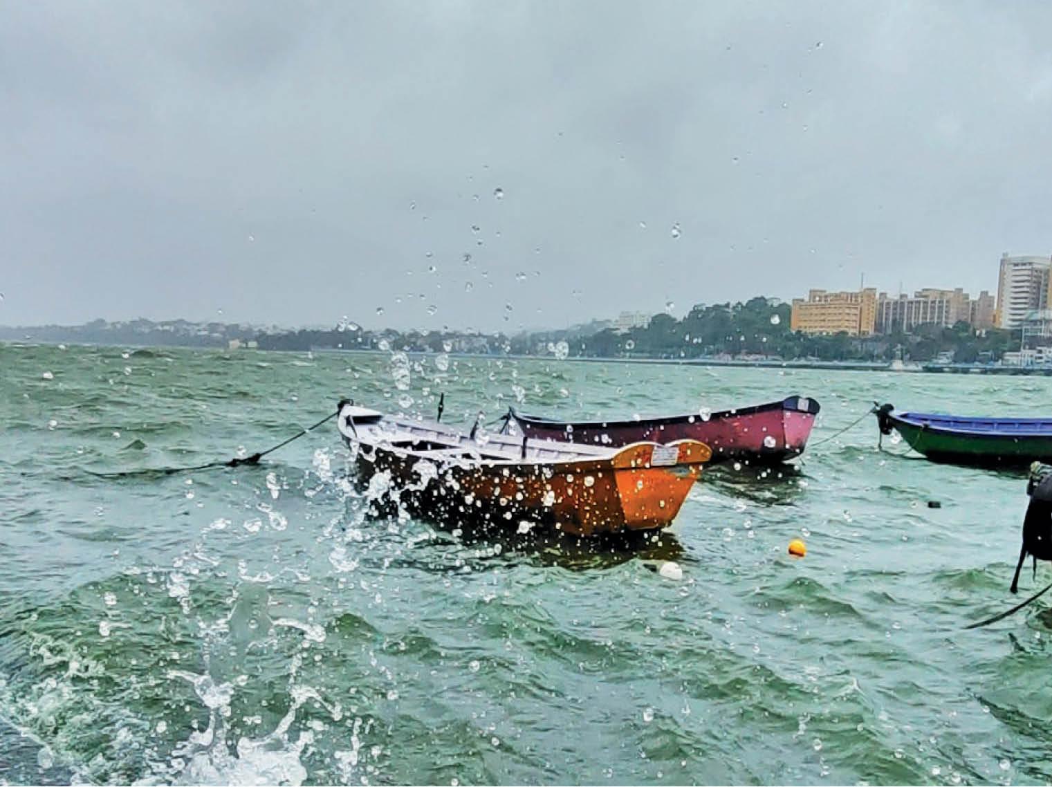भोपाल में अब तक 24.79 इंच बारिश हुई; एक सप्ताह में 1.60 फीट बढ़ गया बड़े तालाब का लेवल भोपाल,Bhopal - Dainik Bhaskar
