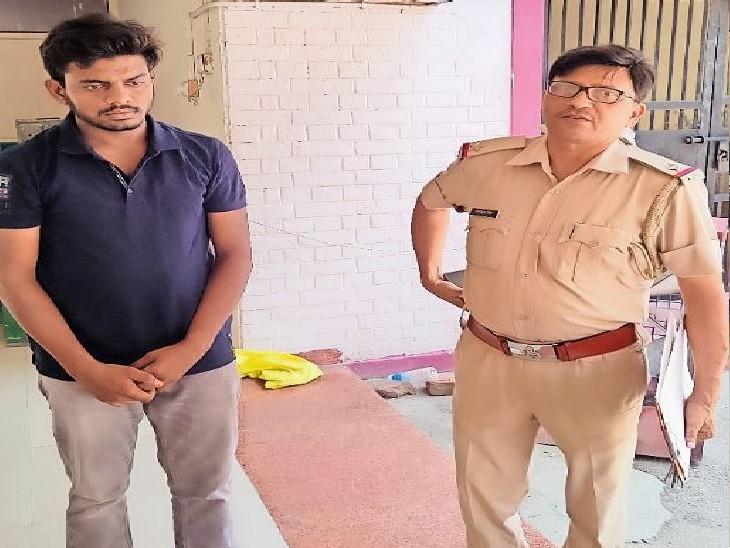 पानीपत. पुलिस गिरफ्त में आरोपी। - Dainik Bhaskar
