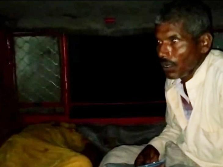 सहरसा में गला दबाकर महिला की ले ली जान, लोगों ने पति और ससुर को पुलिस के हवाले किया|बिहार,Bihar - Dainik Bhaskar