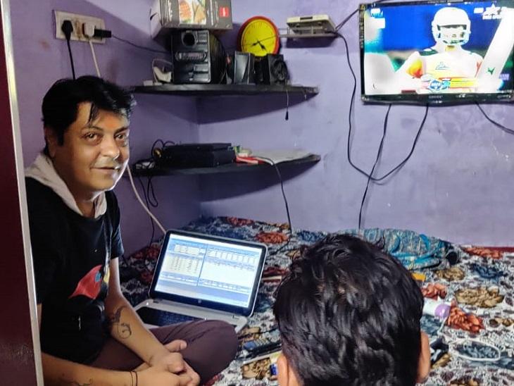 कमरे में लगा रखा था TV, लैपटॉप और लाइव सट्टे का सारा सेटअप, अचानक पुलिस पहुंची तो मुस्कुराने लगा बदमाश|रायपुर,Raipur - Dainik Bhaskar