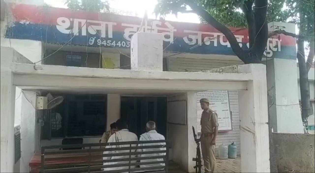 गंदगी को लेकर पड़ोसी से हुआ था झगड़ा, बचाने आए बहनोई और भांजा मारपीट में घायल, पीड़ित ने थाने में दी तहरीर|मथुरा,Mathura - Dainik Bhaskar