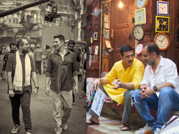 अक्षय कुमार की 'रक्षाबंधन' के लिए मुंबई फिल्मसिटी में चांदनी चौक की खारी बाउली का मसाला मार्केट किया गया था रीक्रिएट बॉलीवुड,Bollywood - Dainik Bhaskar