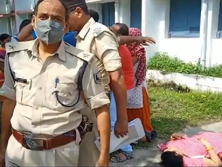 मुजफ्फरपुर में ITI कॉलेज में मिली थी लाश; अब मां ने पति समेत ससुराल वालों पर दहेज हत्या का लगाया आरोप, कहा- लैपटॉप और जमीन मांग रहे थे|मुजफ्फरपुर,Muzaffarpur - Dainik Bhaskar