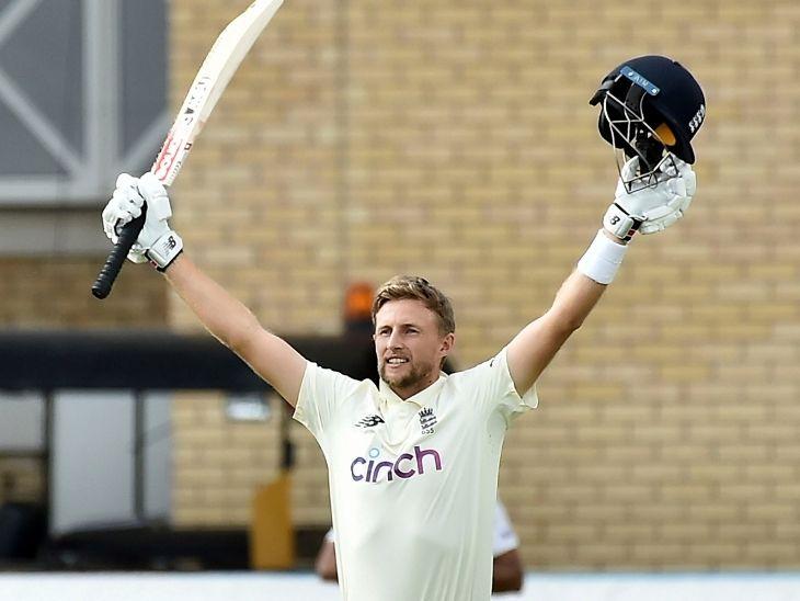 जो रूट ने अपने टेस्ट करियर का 21वां और भारत के खिलाफ छठा शतक जमाया।