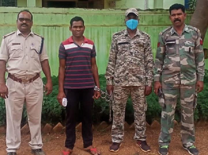 बलात्कार के आरोपी को कोंडागांव पुलिस  ने गिरफ्तार कर जेल भेज दिया है। - Dainik Bhaskar
