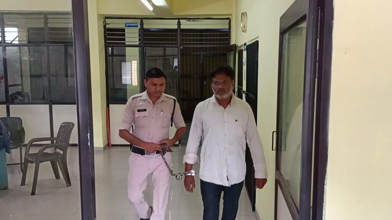 कालकाप्रसाद को कोतवाली पुलिस ने रिमांड पर लिया। - Dainik Bhaskar