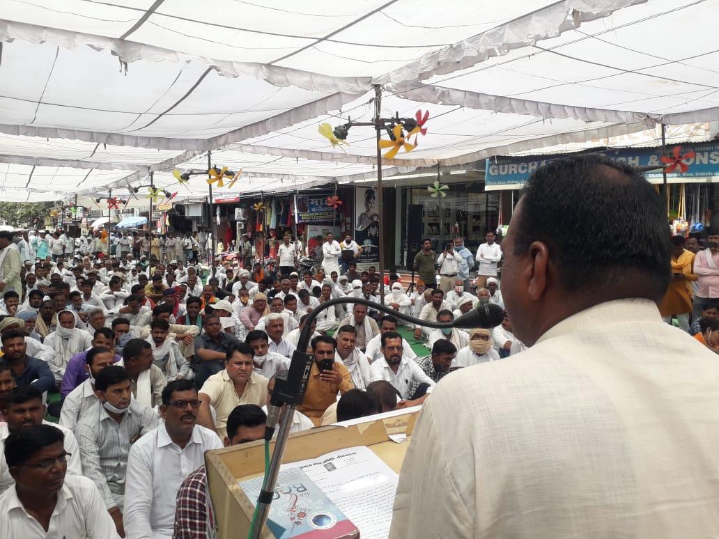 वक्ता बोले, ' दलितों पर हमले नहीं किए जाएंगे बर्दाश्त,अच्छे नहीं हैं ऐसेहालात '|श्रीगंंगानगर,Sriganganagar - Dainik Bhaskar