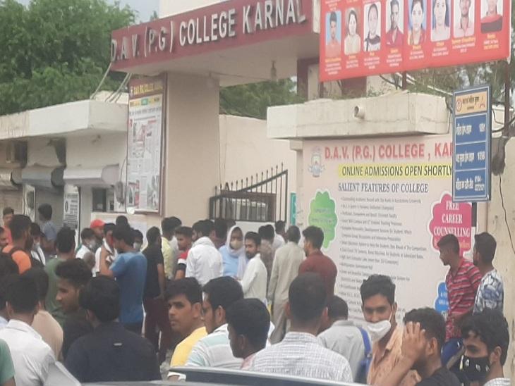 एडमिट कार्ड के साथ फोटो का मिलान करने समय पकड़े गए, आरोपियों में एक युवक उत्तर प्रदेश का भी करनाल,Karnal - Dainik Bhaskar