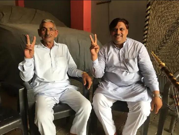 नीरज चोपड़ा के दादा और चाचा ने कहा कि उसने गोल्ड जीतकर देश का नाम रोशन किया है।