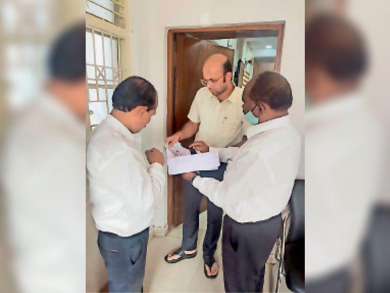 केन्द्रीय गोड़ महासभा के पदाधिकारियों ने ज्ञापन सौंपा। - Dainik Bhaskar