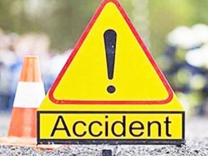 बिहटा-आरा NH30 पर तेज रफ्तार से आ रहे ट्रक ने युवक को रौंदा , घटनास्थल पर ही थम गई सांसें|बिहार,Bihar - Dainik Bhaskar