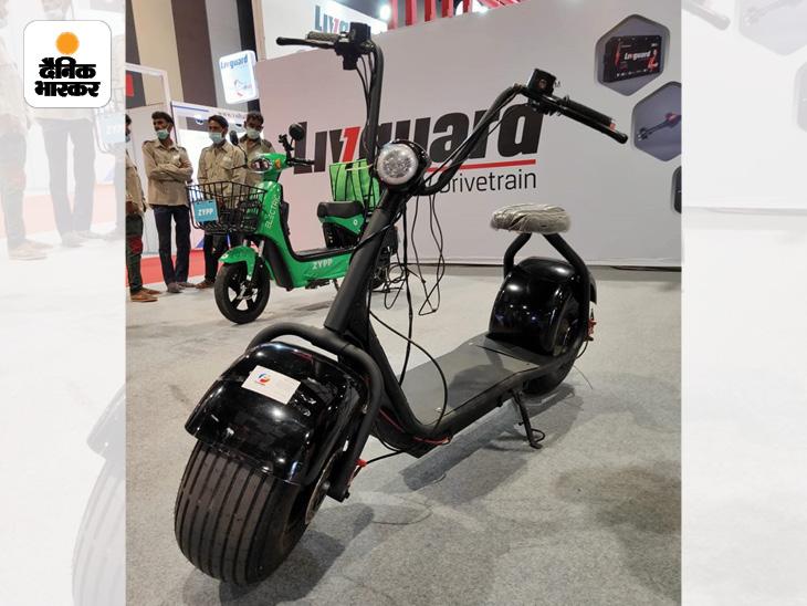 79,999 रुपए में इलेक्ट्रिक 'हार्ले डेविडसन', 100% इंडियन कंपोनेंट वाला ई-ऑटो, एक्सट्रा कमाई के लिए ऐड के LED डिस्प्ले वाला ई-रिक्शा|बिजनेस,Business - Dainik Bhaskar