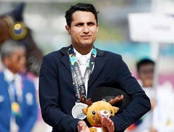 टोक्यो ओलिंपिक के फाइनल में पहुंचे फुआद मिर्जा।