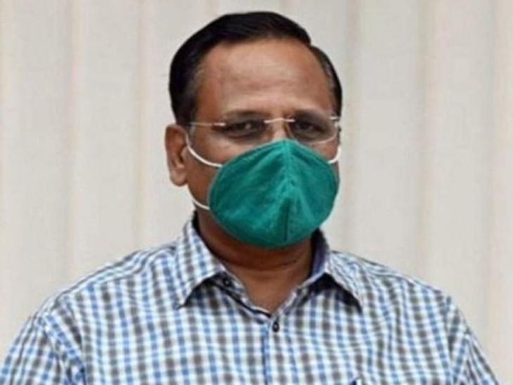 स्वास्थ्य मंत्री सत्येंद्र जैन बोले- सरकार पूरी तरह तैयार है। - Dainik Bhaskar