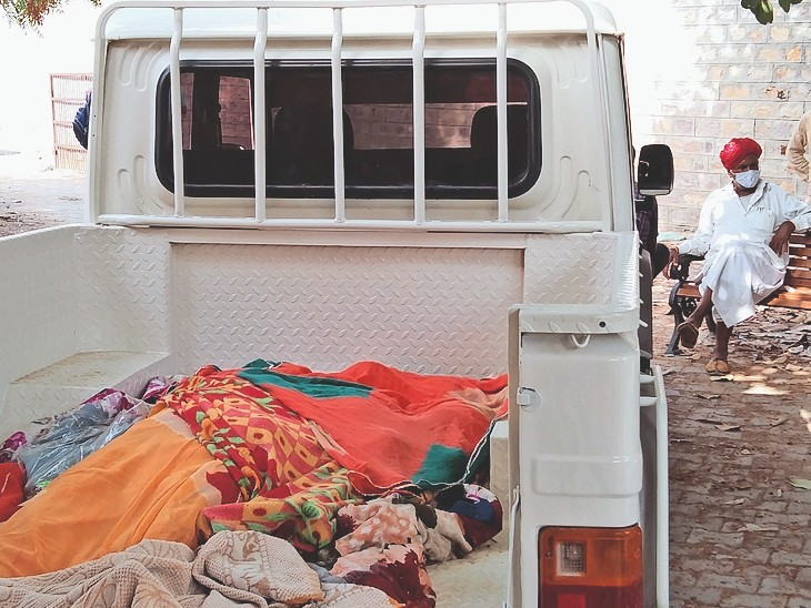 सास-ससुर व देवर से परेशान महिला ने पहले बेटे और बेटी को फंदे पर लटकाया और फिर खुद झूली, तीनों की मौत|बाड़मेर,Barmer - Dainik Bhaskar