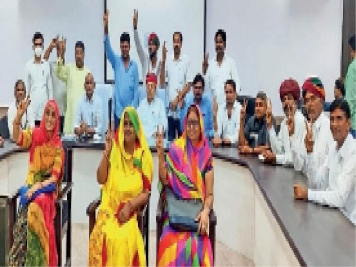स्थायी समितियों के सदस्य और अध्यक्ष पद पर निर्वाचित हुए सदस्य। - Dainik Bhaskar