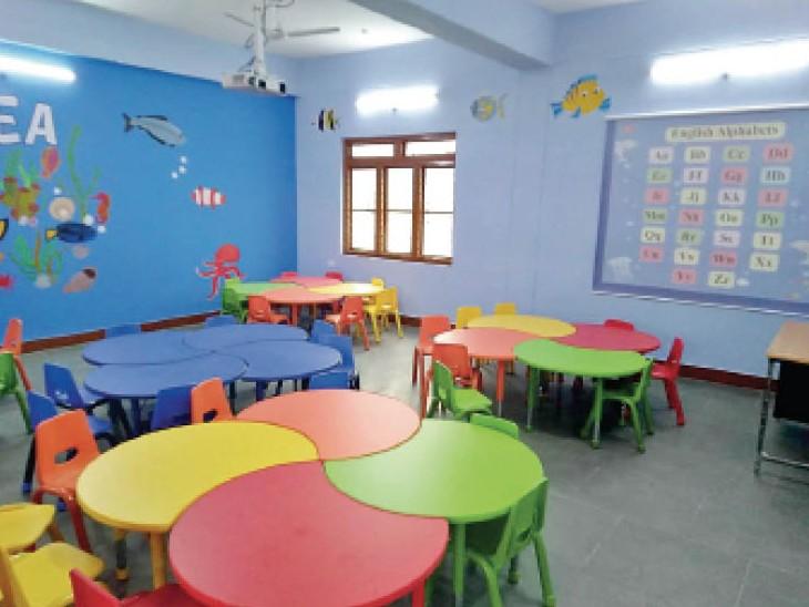 इस सरकारी स्कूल में 25 स्मार्ट क्लास रूम, ई लाइब्रेरी और हॉस्टल, कम्प्यूटर लैब के अलावा यहां 2000 पुस्तकें भी मिलेगी|भोपाल,Bhopal - Dainik Bhaskar
