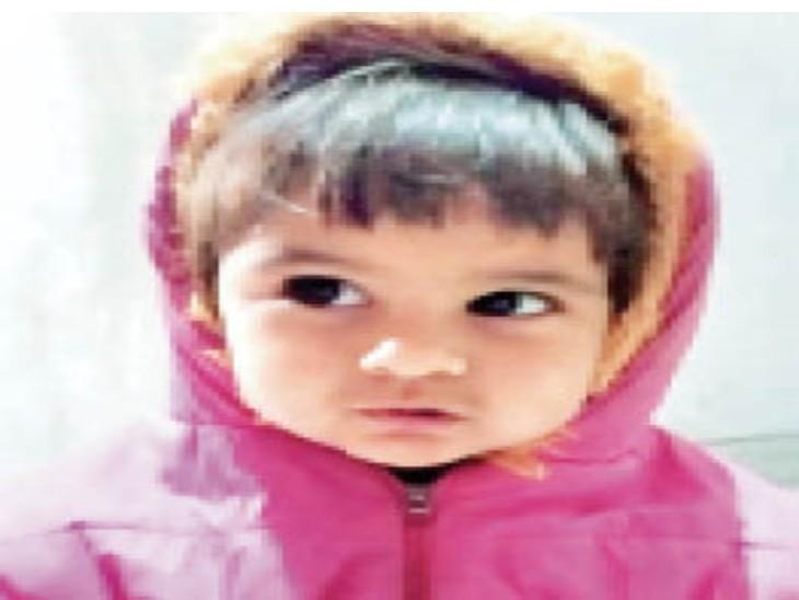 चार साल की मासूम राधिका। - Dainik Bhaskar