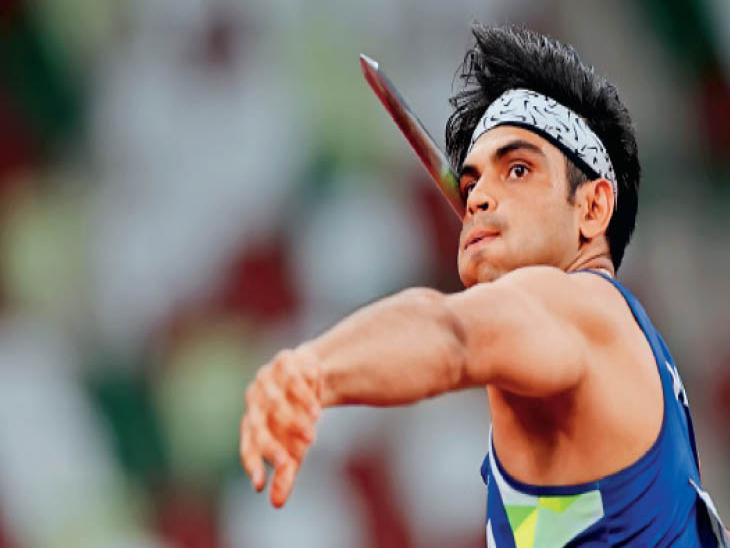 नीरज वजन कम करने के लिए गया था जिम, स्टेडियम में पहली बार भाला फेंका तो वहीं से बदल गई जिंदगी|हरियाणा,Haryana - Dainik Bhaskar