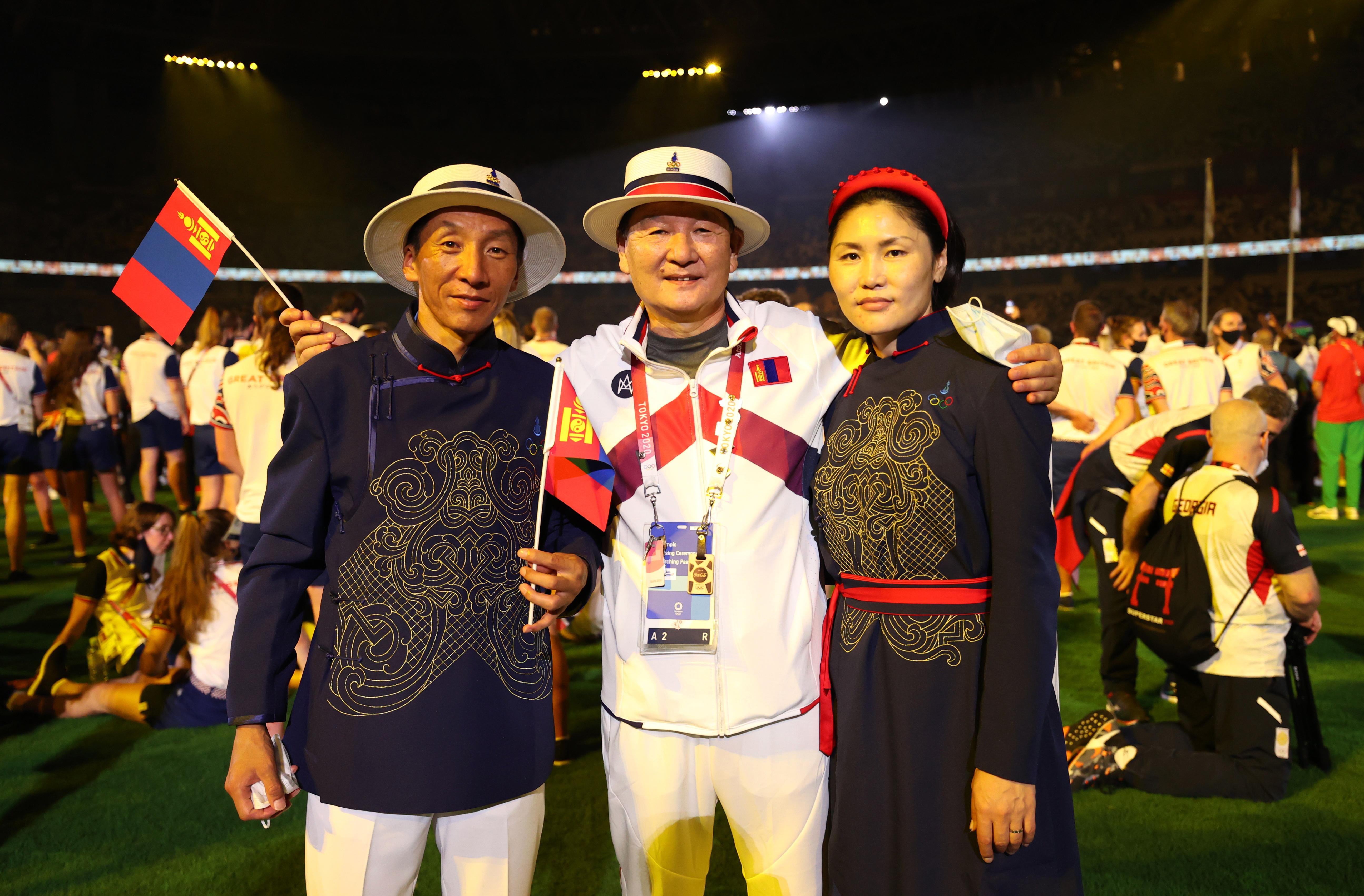 मंगोलिया ने भी इस ओलिंपिक में हिस्सा लिया था। कार्यक्रम में उनके खिलाड़ियों ने भी हिस्सा लिया।