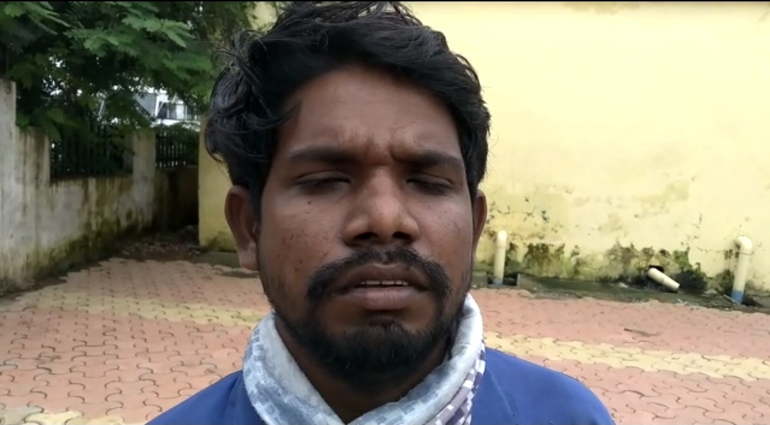 युवक गौतम राउत - Dainik Bhaskar