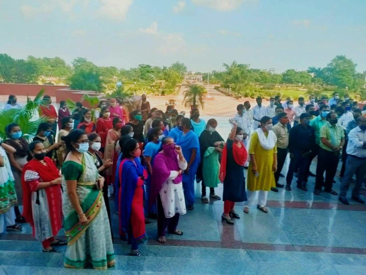 संघ की आम सभा में बड़ी संख्या में महिला सदस्यों ने भी हिस्सा लिया था।