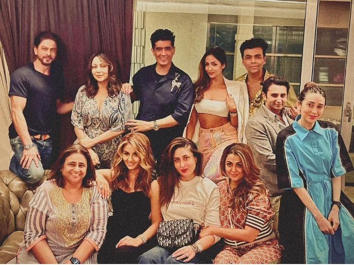 शाहरुख खान, करीना कपूर, करण जौहर, मलाइका अरोड़ा ने करीबी दोस्तों के साथ की गेट टुगेदर पार्टी, सामने आईं तस्वीरें|बॉलीवुड,Bollywood - Dainik Bhaskar