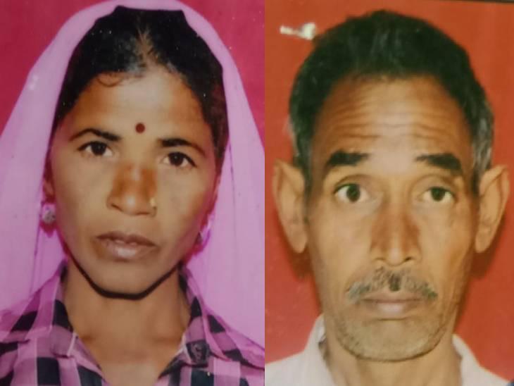 खेत में पत्नी से विवाद होने पर घोंट दिया गला; बेटे से कहा, मां को मार डाला, खेत में पड़ी है, फिर खुद भी दे दी जान अमरोहा,Amroha - Dainik Bhaskar