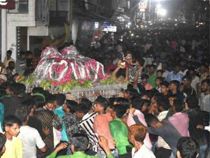प्रयागराज में इस बार भी नहीं उठेगा बड़ा ताजिया, जुलूस भी न निकालने का लिया गया निर्णय|प्रयागराज (इलाहाबाद),Prayagraj (Allahabad) - Dainik Bhaskar