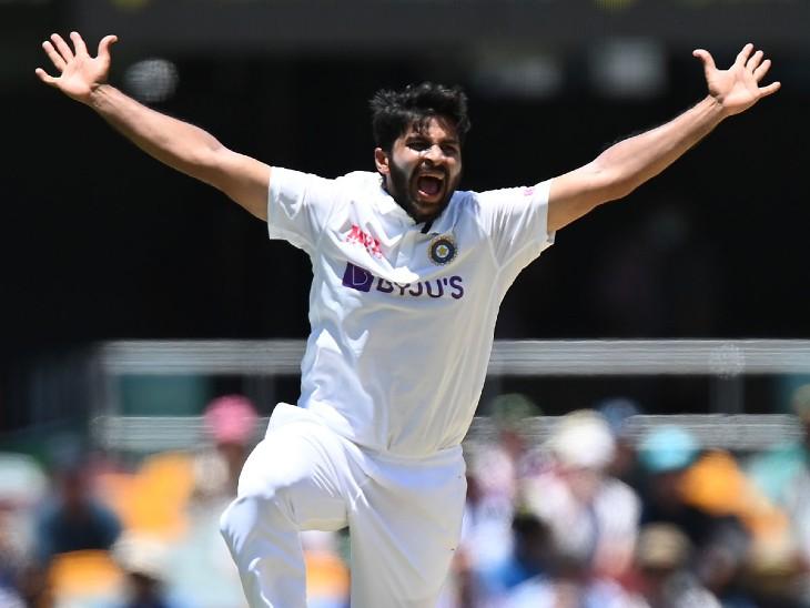शार्दूल ठाकुर भारत के लिए 3 टेस्ट मैचों में 3.42 की इकोनॉमी रेट से 11 विकेट लिए हैं।