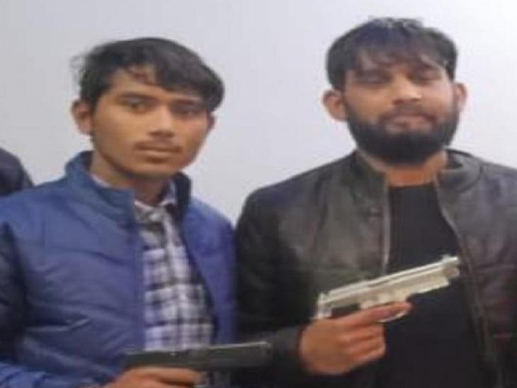 Haryana gangster Monu Dangar and Deepak alias Deepu involved in the incident.